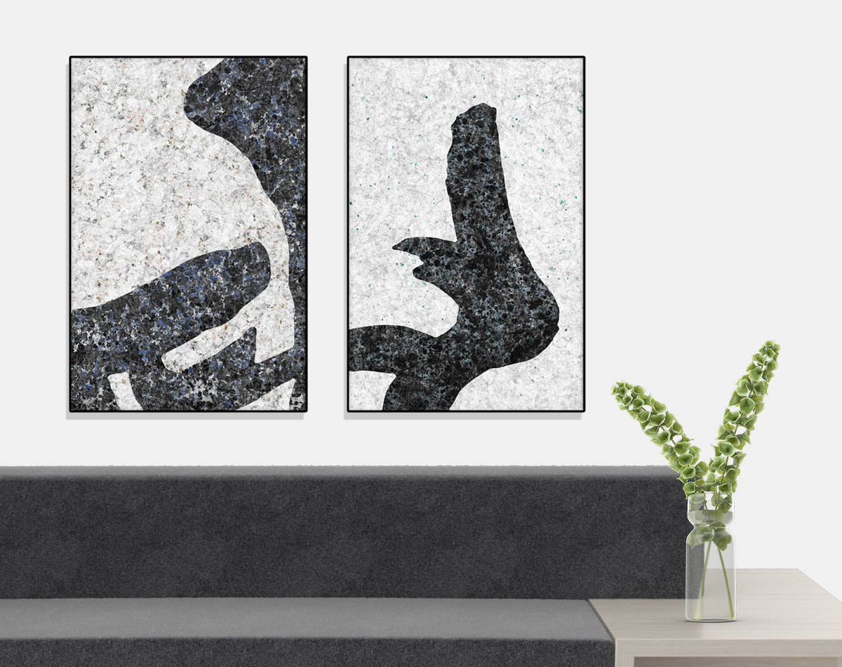 Modern art prints for offices, restaurants and hotels.
