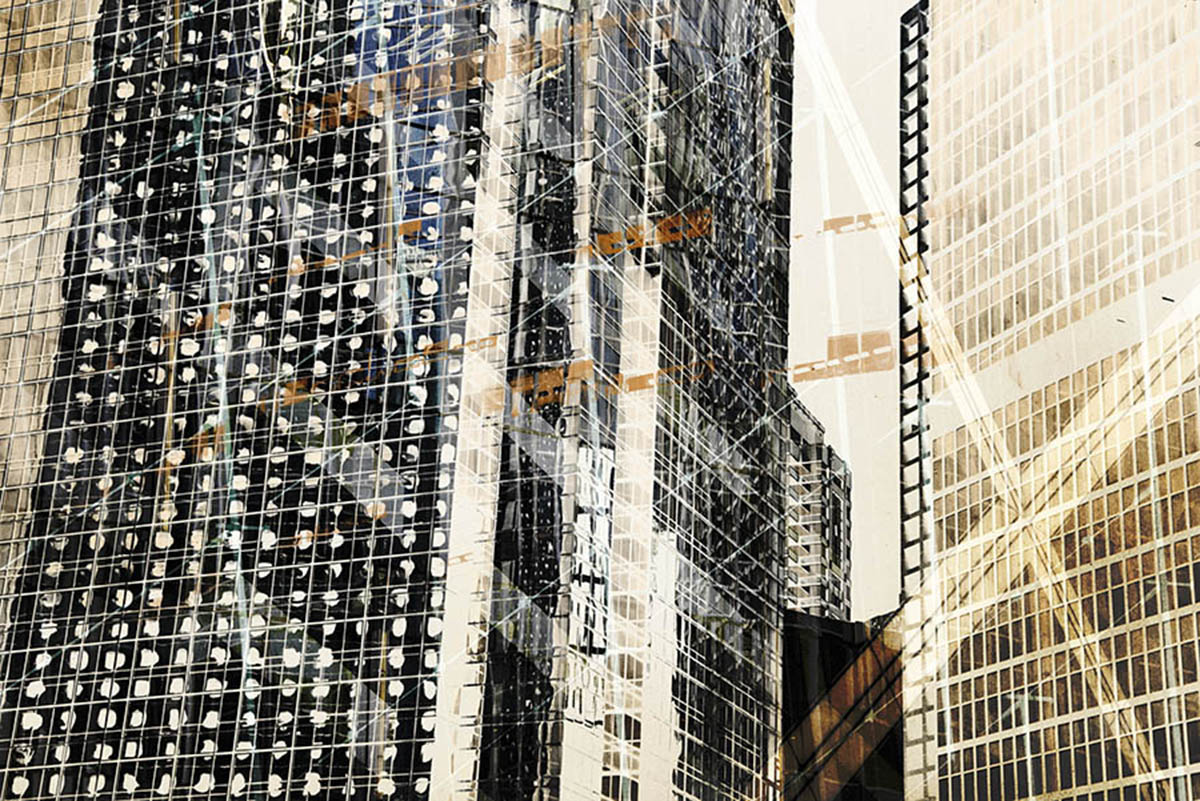 City photography of reflections by Hong Kong photographer Alvin Mak.
