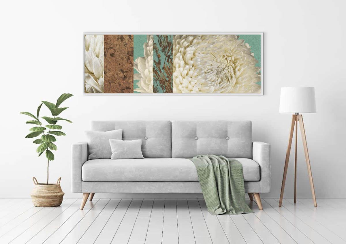 Floral art prints by visual artist Alvin Mak.