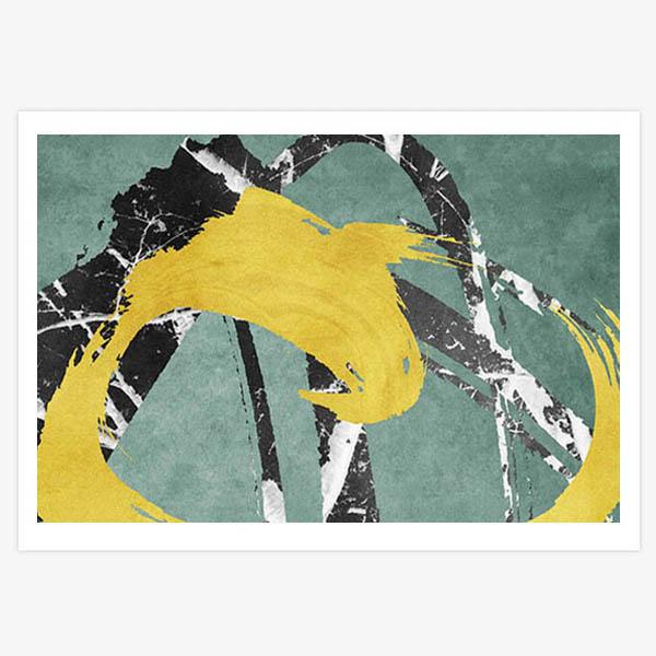 Giclee print by HK artist Alvin Mak.